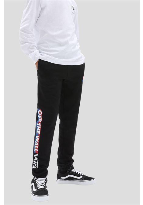 Black baby pants by vans with elastic waistband VANS | Pants | VN0A5FMZBLK1BLK1