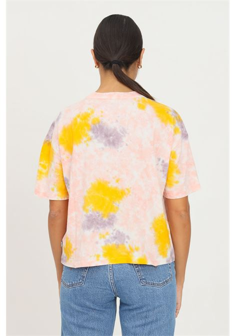 Fantasy women's t-shirt by vans with contrasting logo print, short sleeve VANS | T-shirt | VN0A5I7UZ00Z00