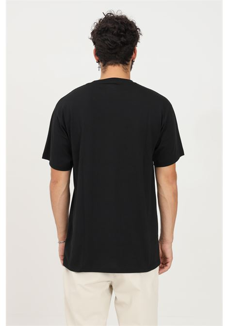 T-shirt da uomo nero vans a manica corta con stampa logo VANS | T-shirt | VN0A5KC9BLK1BLK1