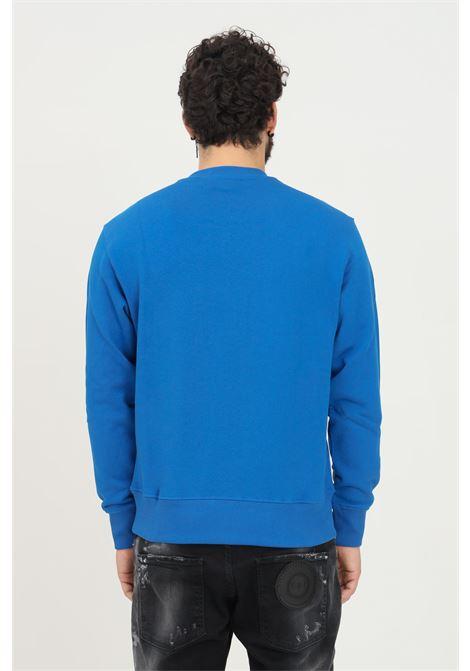Felpa blu uomo versace jeans couture girocollo VERSACE JEANS COUTURE   Felpe   71GAIT08CF00TG43 (243+948)
