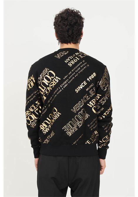 Men's sweatshirt by versace jeans couture, crew neck VERSACE JEANS COUTURE   Sweatshirt   71GAIT14CF00TG89 (899+948)