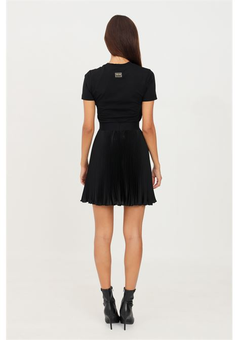 Black skirt by versace jeans couture short model VERSACE JEANS COUTURE | Skirt | 71HAE8P1NS035899