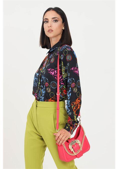 Camicia donna fantasia versace jeans couture elegante VERSACE JEANS COUTURE | Camicie | 71HAL201NS007899
