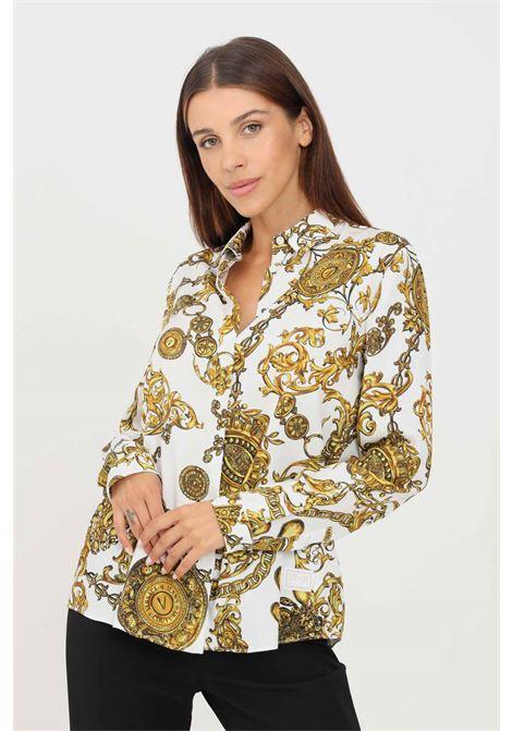 Camicia donna fantasia versace jeans couture elegante VERSACE JEANS COUTURE | Camicie | 71HAL201NS007G03 (003+948)