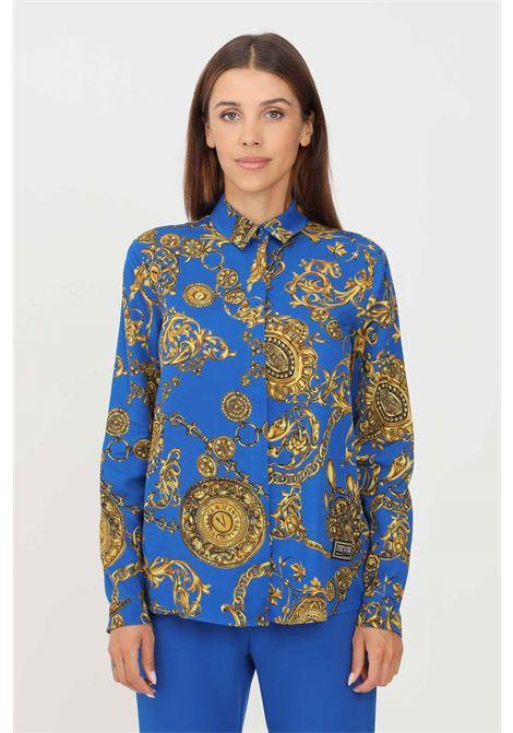 Camicia donna fantasia versace jeans couture elegante VERSACE JEANS COUTURE | Camicie | 71HAL201NS007G24 (243+948)