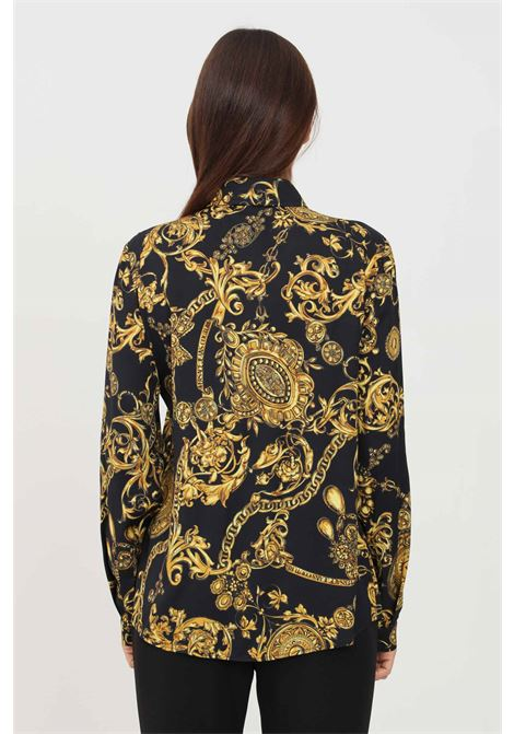 Camicia donna fantasia versace jeans couture elegante VERSACE JEANS COUTURE | Camicie | 71HAL201NS007G89 (899+948)