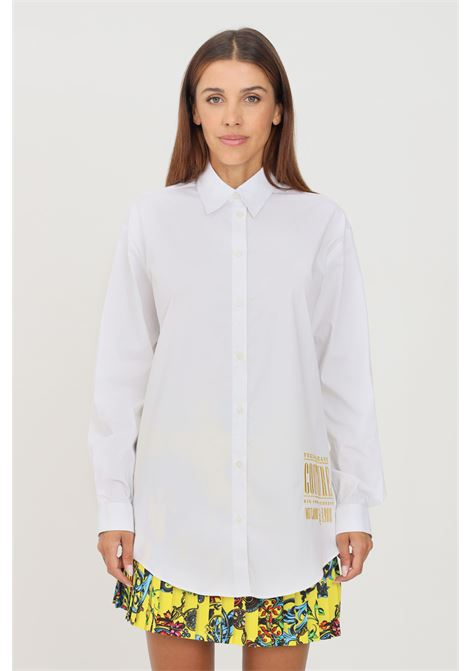 Camicia donna bianco versace jeans couture elegante VERSACE JEANS COUTURE | Camicie | 71HAL223N0003003