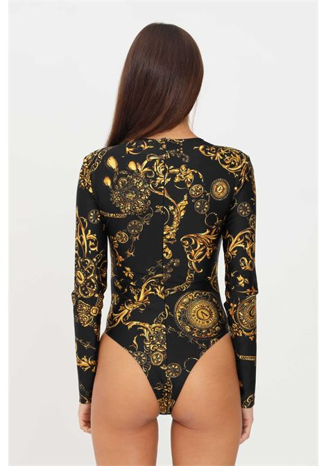Body versace jeans couture con stampa allover elegante VERSACE JEANS COUTURE | Body | 71HAM221JS008G89 (899+948)