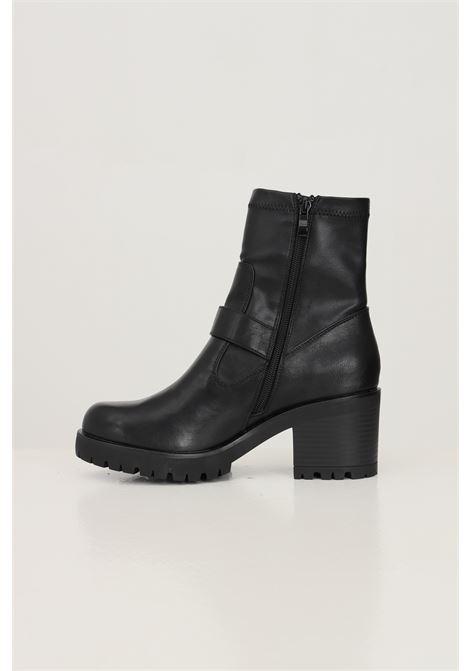 Stivaletti donna nero versace jeans couture con fibbia decorativa VERSACE JEANS COUTURE | Stivaletti | 71VA3S9271570899