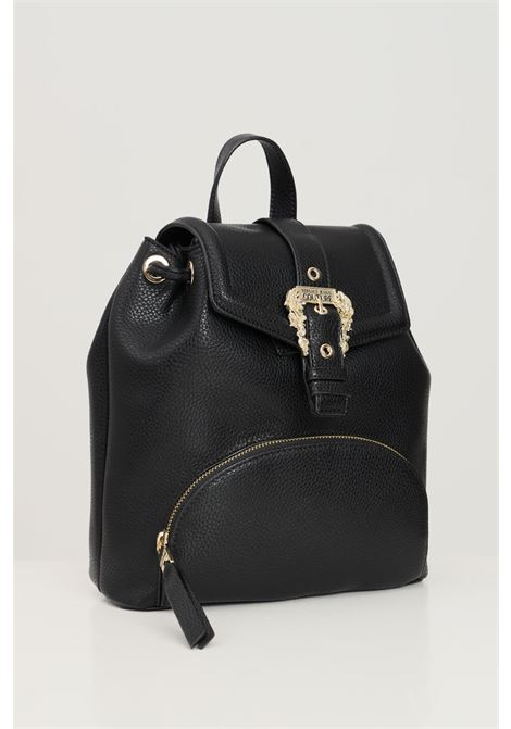 Black women's backpack by versace jeans couture with buckle VERSACE JEANS COUTURE | Backpack | 71VA4BF871578899