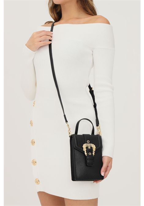 Borsa donna nero versace jeans couture con tracolla removibile modello portacellulare VERSACE JEANS COUTURE   Borse   71VA4BFL71578899