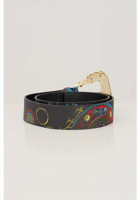 Fantasy women's belt by versace jeans couture with allover print VERSACE JEANS COUTURE | Belt | 71VA6F02ZS123899