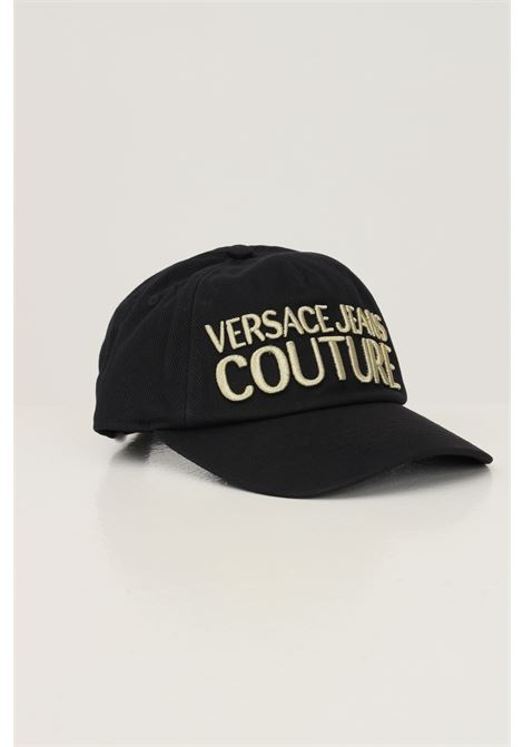 Cappello unisex nero versace jeans couture modello berretto VERSACE JEANS COUTURE | Cappelli | 71VAZK10ZG010G89 (899+948)