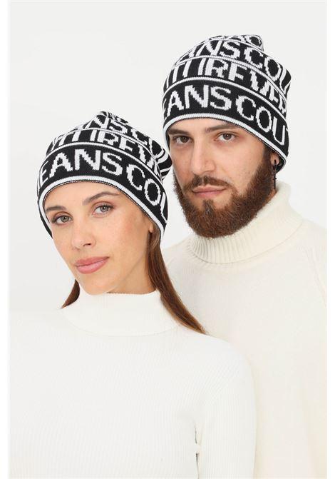 Cappello unisex nero bianco versace jeans couture VERSACE JEANS COUTURE | Cappelli | 71VAZK42ZG022L01 (899+003)