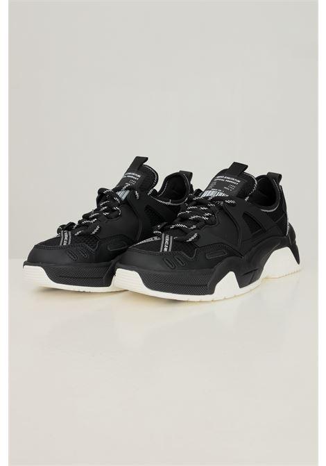 Black men's fondo stargaze sneakers by versace jeans couture VERSACE JEANS COUTURE | Sneakers | 71YA3SF5ZS065899