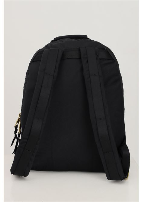 Black unisex backpack by versace jeans couture with double buckle on the front VERSACE JEANS COUTURE | Backpack | 71YA4B80ZS106899