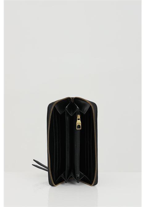 Black wallet with metal logo application. Versace jeans couture VERSACE JEANS COUTURE   Wallet   E3VWAPL171879899