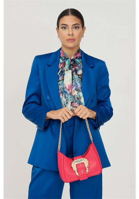 Giacca donna blu vicolo doppiopetto chiusura con bottoni VICOLO | Giacche | TX0371BLU
