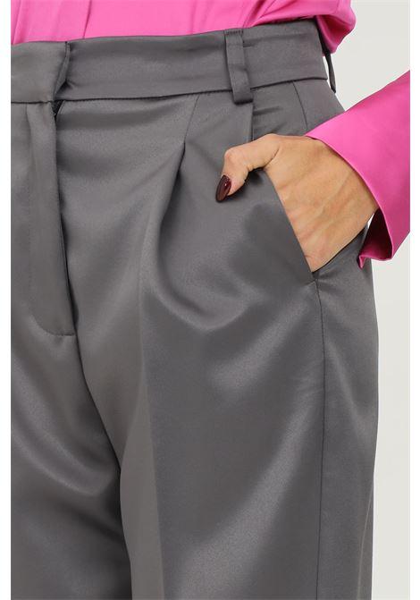 Grey women's trousers by vicolo, elegant model  VICOLO   Pants   TX0372GRIGIO
