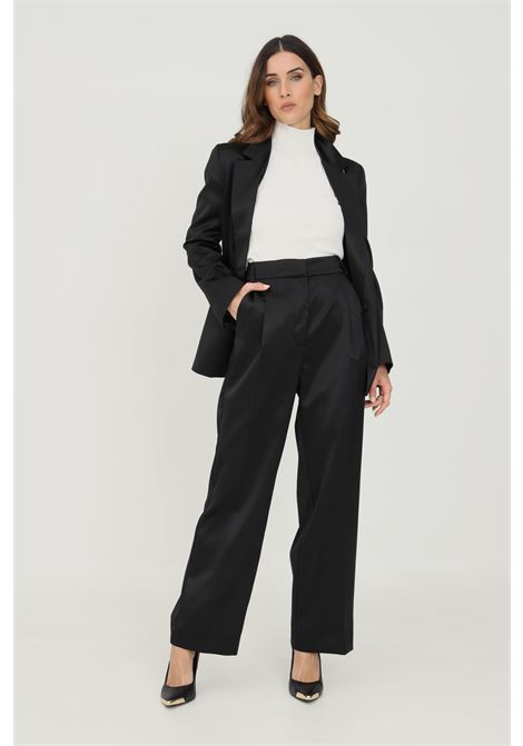 Black women's trousers by vicolo, elegant model VICOLO   Pants   TX0372NERO