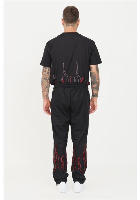 Pantaloni uomo nero vision of super casual VISION OF SUPER | Pantaloni | VOS/B16REDFLBLACK