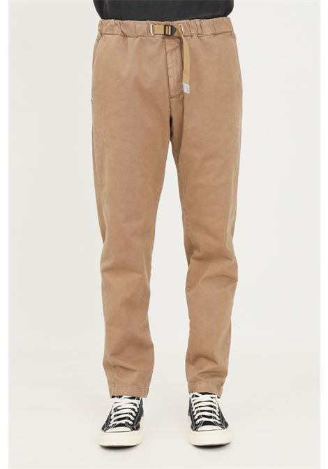 Pantaloni uomo sabbia white sand casual con coulisse in vita WHITE SAND | Pantaloni | 21WSU66-05K45