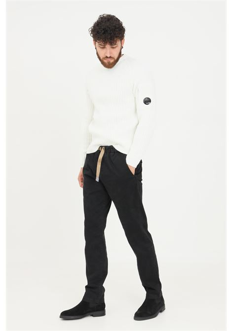 Pantaloni uomo blu white sand casual con coulisse in vita WHITE SAND | Pantaloni | 21WSU66-05K99