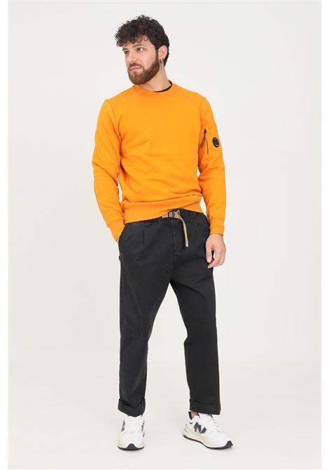 Pantaloni uomo nero white sand casual con cintura elastica WHITE SAND | Pantaloni | 21WSU67-267999