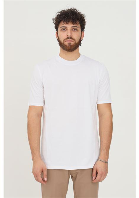 T-shirt uomo bianco yes london a manica corta modello basic YES LONDON | T-shirt | XM3930BIANCO