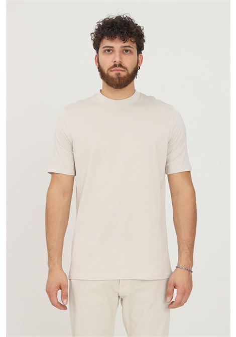 T-shirt uomo polvere yes london a manica corta modello basic YES LONDON | T-shirt | XM3930GHIACCIO