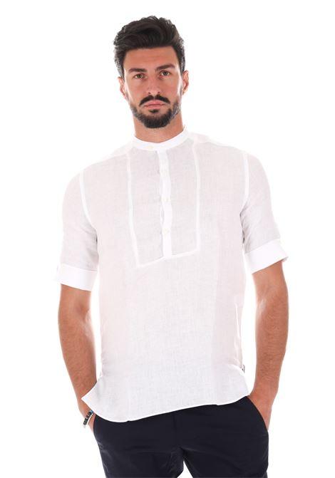 Camicia Serafino Ce49g GAZZARRINI | Camicie | CE49GBIANCO