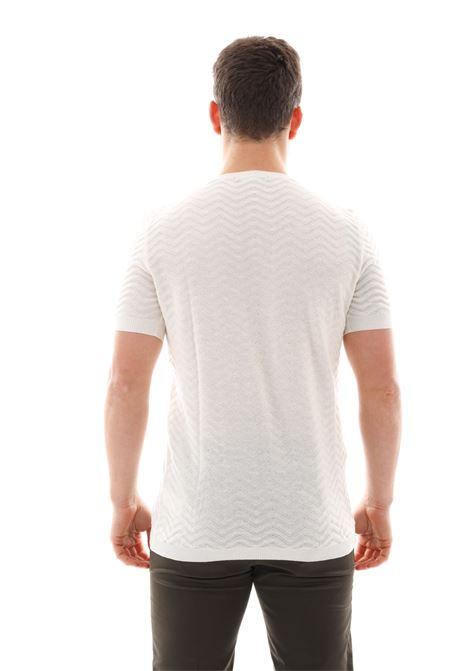 T-shirt Basica Me165g GAZZARRINI | T-shirt | ME165GOFF WHITE