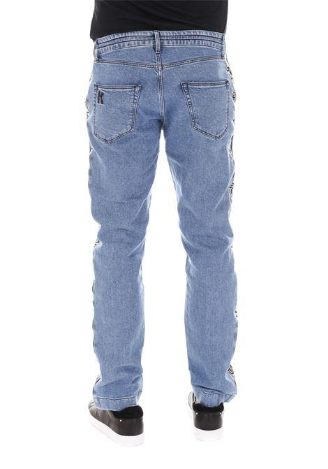 Jeans Con Molla Klmp0004-blk KARL LAGERFELD | Jeans | KLMP0004-BLK001