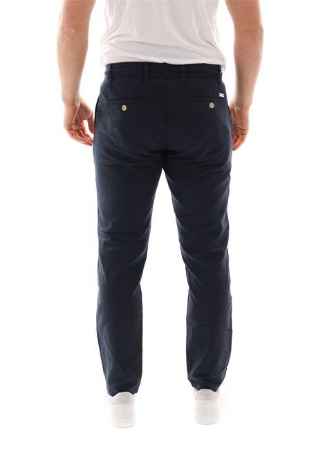Pantalone Con Laccio Sseinse SSEINSE | Pantaloni | PSE452SSBLU NAVY