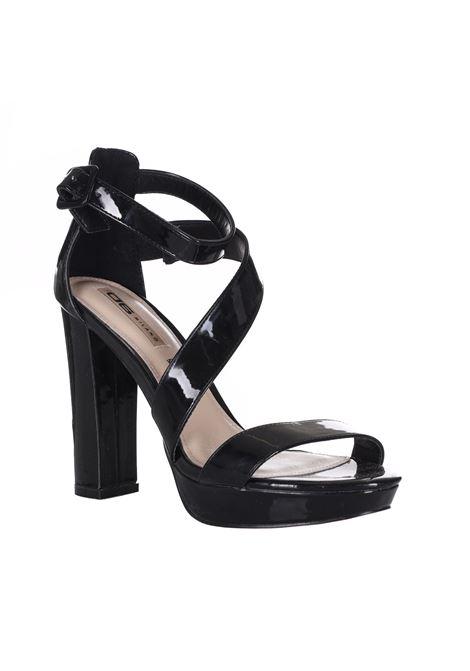 Sandalo Con Tacco Doppio E Cinturino 06 MILANO | Party Shoes | SA0048BLACK