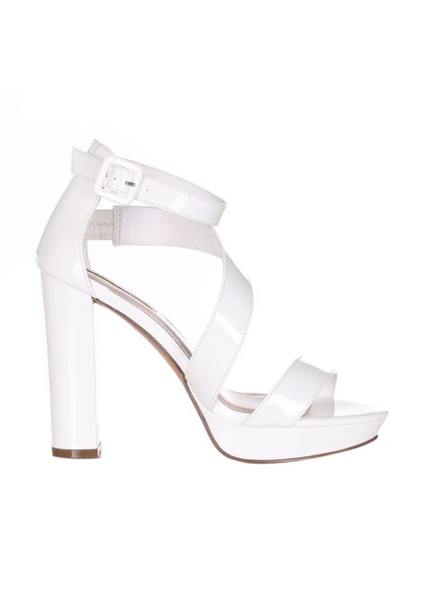 Sandalo Con Tacco Doppio E Cinturino 06 MILANO | Party Shoes | SA0048WHITE