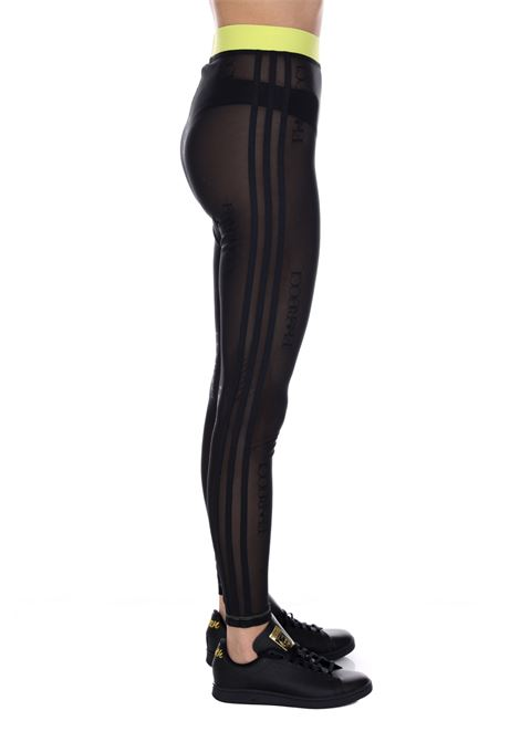 Leggings Logato Traforato Fl4155 ADIDAS | Leggings | FL4155BLACK