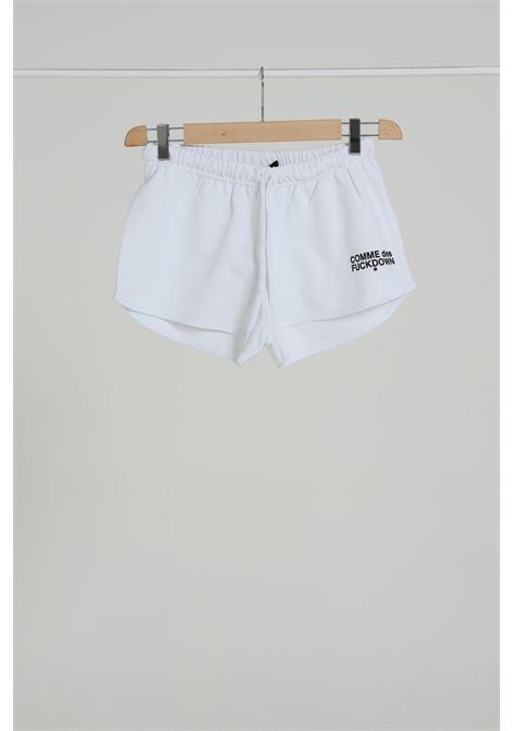 COMME DES FUCKDOWN | Shorts | CDFD906BIANCO