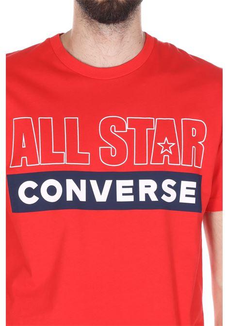 CONVERSE | T-shirt | 10020051UNIVERSITY RED