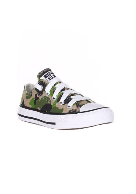 Sneakers Collo Basso Con Lacci CONVERSE | Sneakers | 367190CBLACK/KHAKI