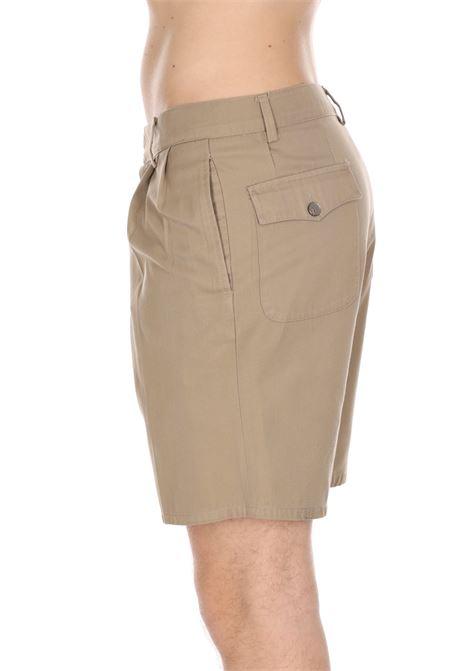 Bermuda Tinta Unita Modello Comodo Con Tasche DANIELE ALESSANDRINI | Shorts | E36740021111
