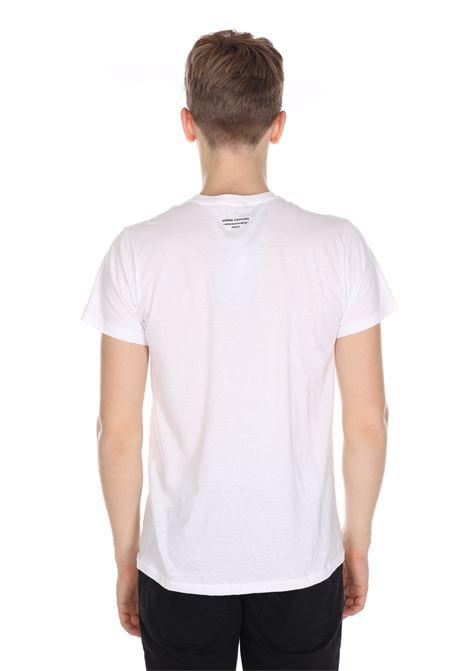 T-shirt Tinta Unita Con Dettaglio Sul Retro DANIELE ALESSANDRINI | T-shirt | M734340022