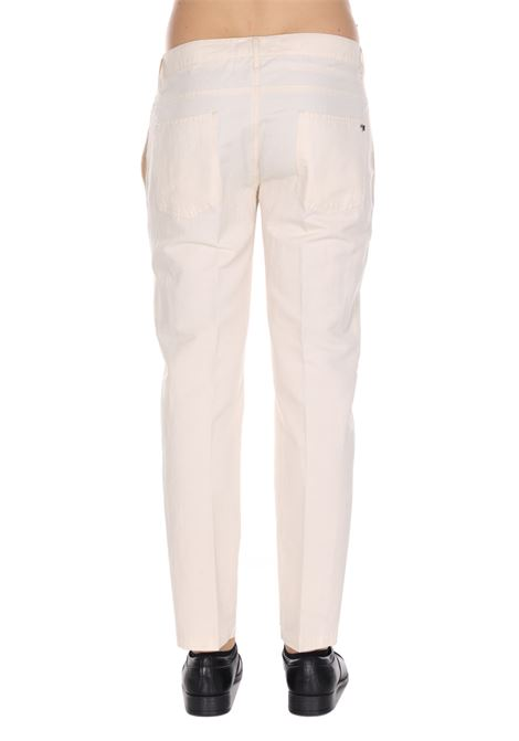 Pantalone Classico Modello Slim Tinta Unita DANIELE ALESSANDRINI | Pantaloni | PM012400212
