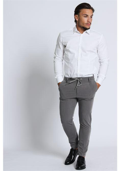 Pantalone Con Lacci Pm0144002 DANIELE ALESSANDRINI | Pantaloni | PM014400211