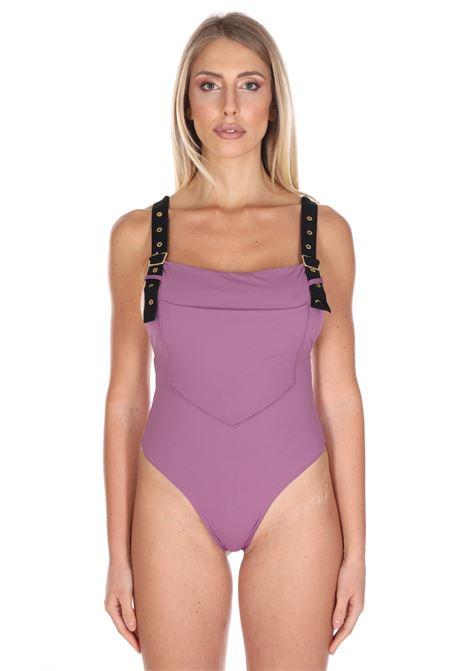 Costume Intero Tinta Unita DOLCERIVA | Beachwear | 1208VIOLA