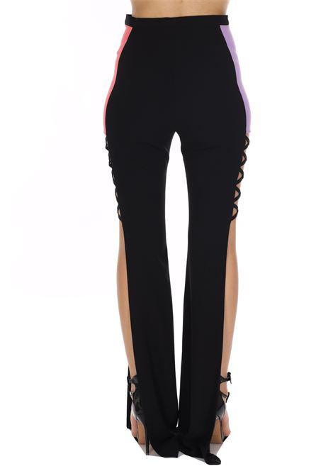 Pantalone Con Spacchi Laterali E Stampa Bicolore DRAM+êE   Pantaloni   D250UNI