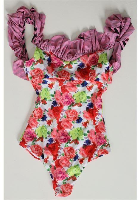 Costume Intero Con Stampa Floreale GAELLE | Beachwear | GBDB154FIORATO