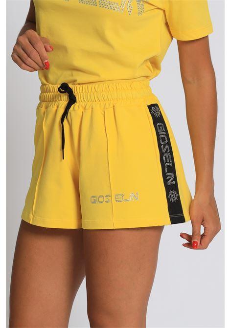 GIOSELIN | Shorts | SHORT BANDA STRASSGIALLO