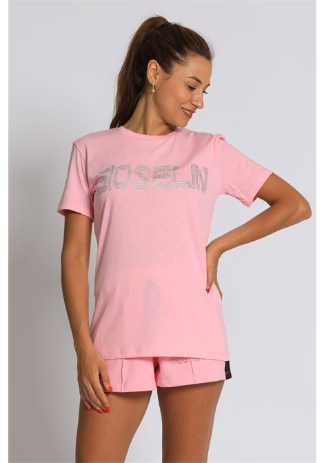 T-shirt Strass GIOSELIN   T-shirt   T-SHIRT STRASSROSA