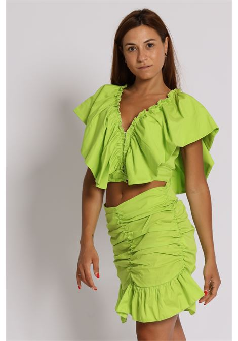 HAVEONE | Skirt | GLA-C023VERDE